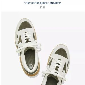 Tory Burch bubble sneaker